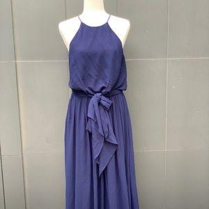 Donna Morgan Navy Blue Formal Dress